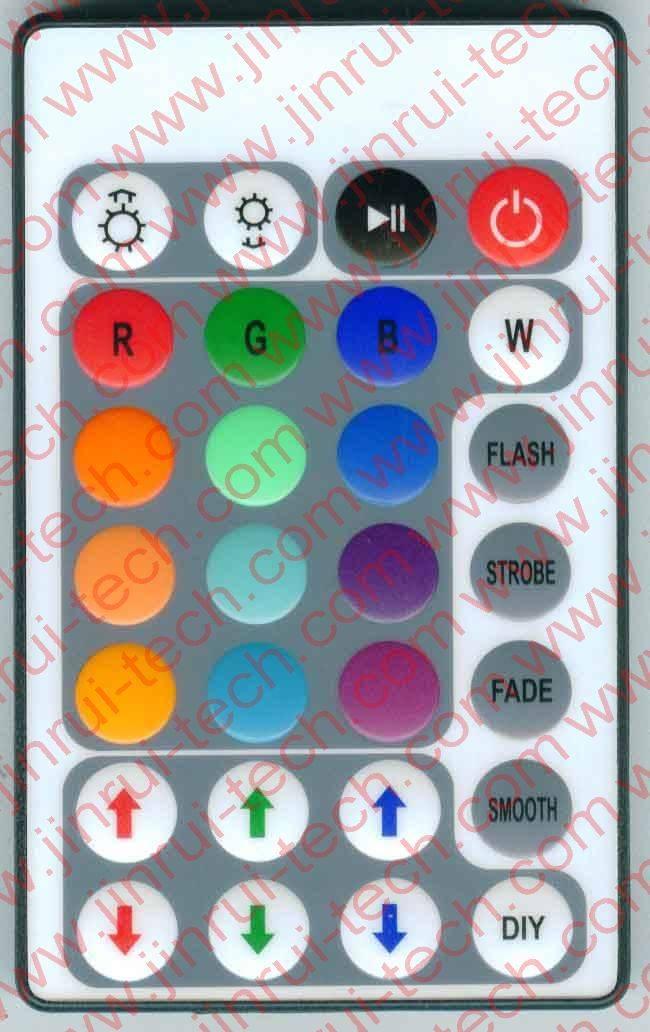 28键灯控遥控器,灯条遥控器,红外遥控器,RGB遥控器