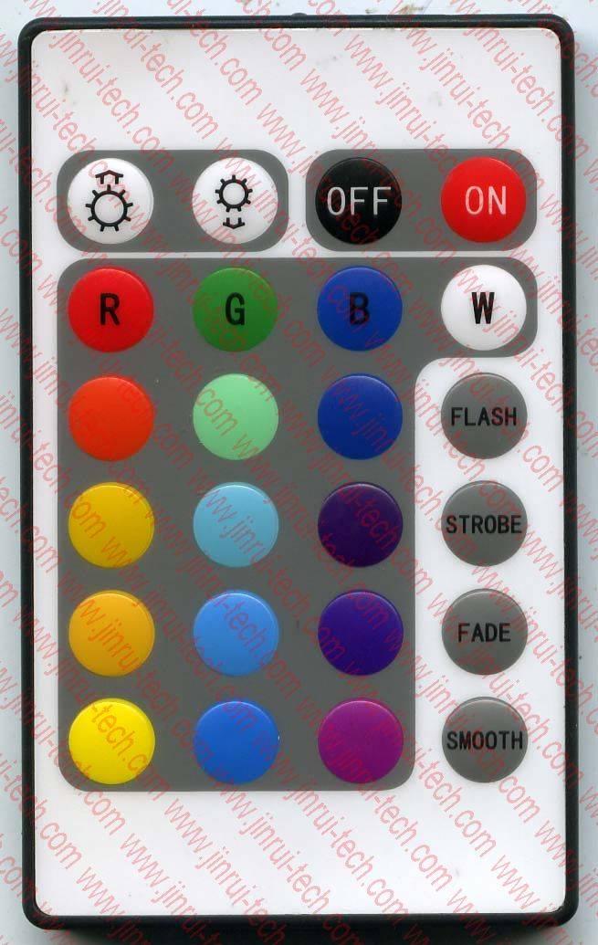 RGB遥控器,灯条遥控器,灯杯遥控器,RGB红外遥控器