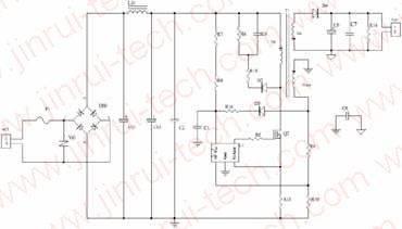 LED电源,Flyback电源图,Flyback电路原理图,Flyback原理分析